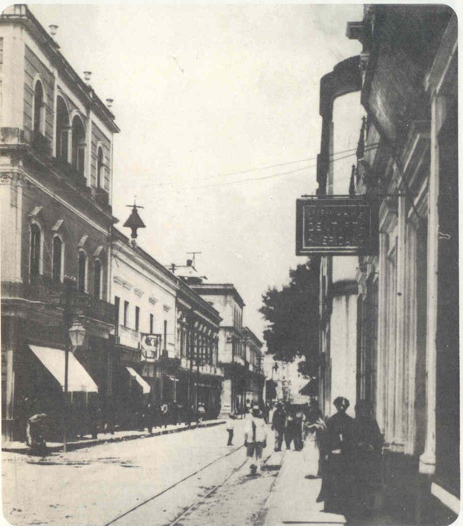 Guadalajara De Ayer Antigua Calle