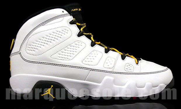 PERSPIRE 2014  Air Jordan 9 White Citrus - Deep Forest 414cddc7d