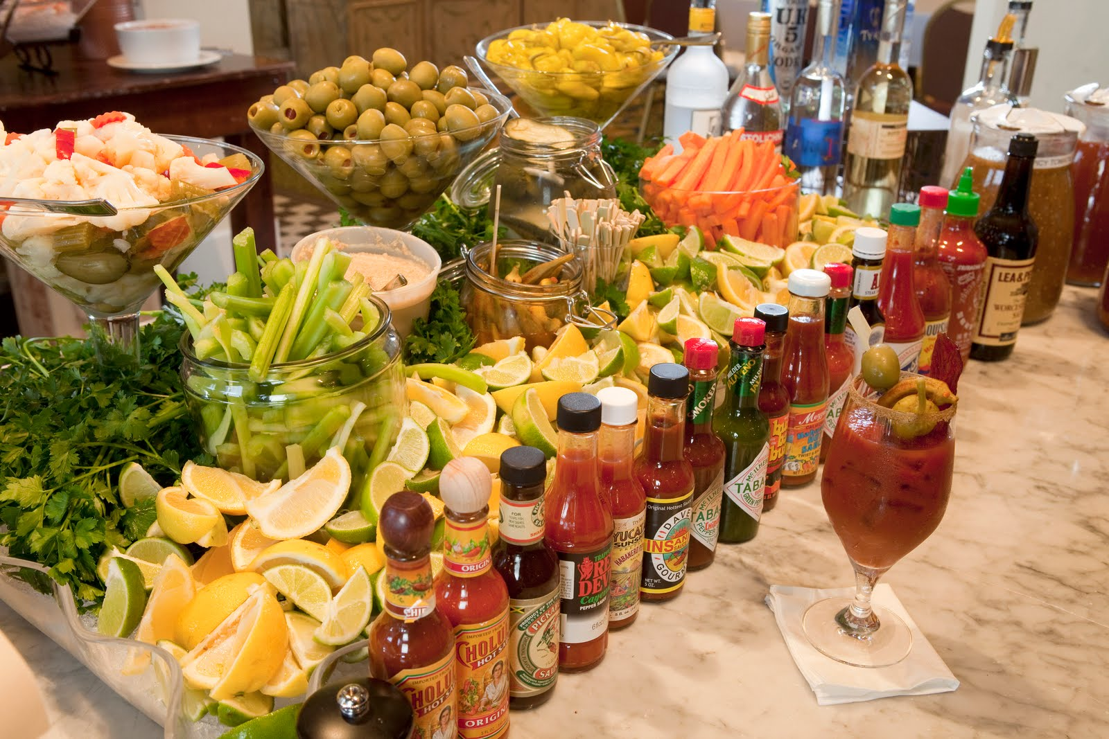 Add a Salad to Your Bloody Mary
