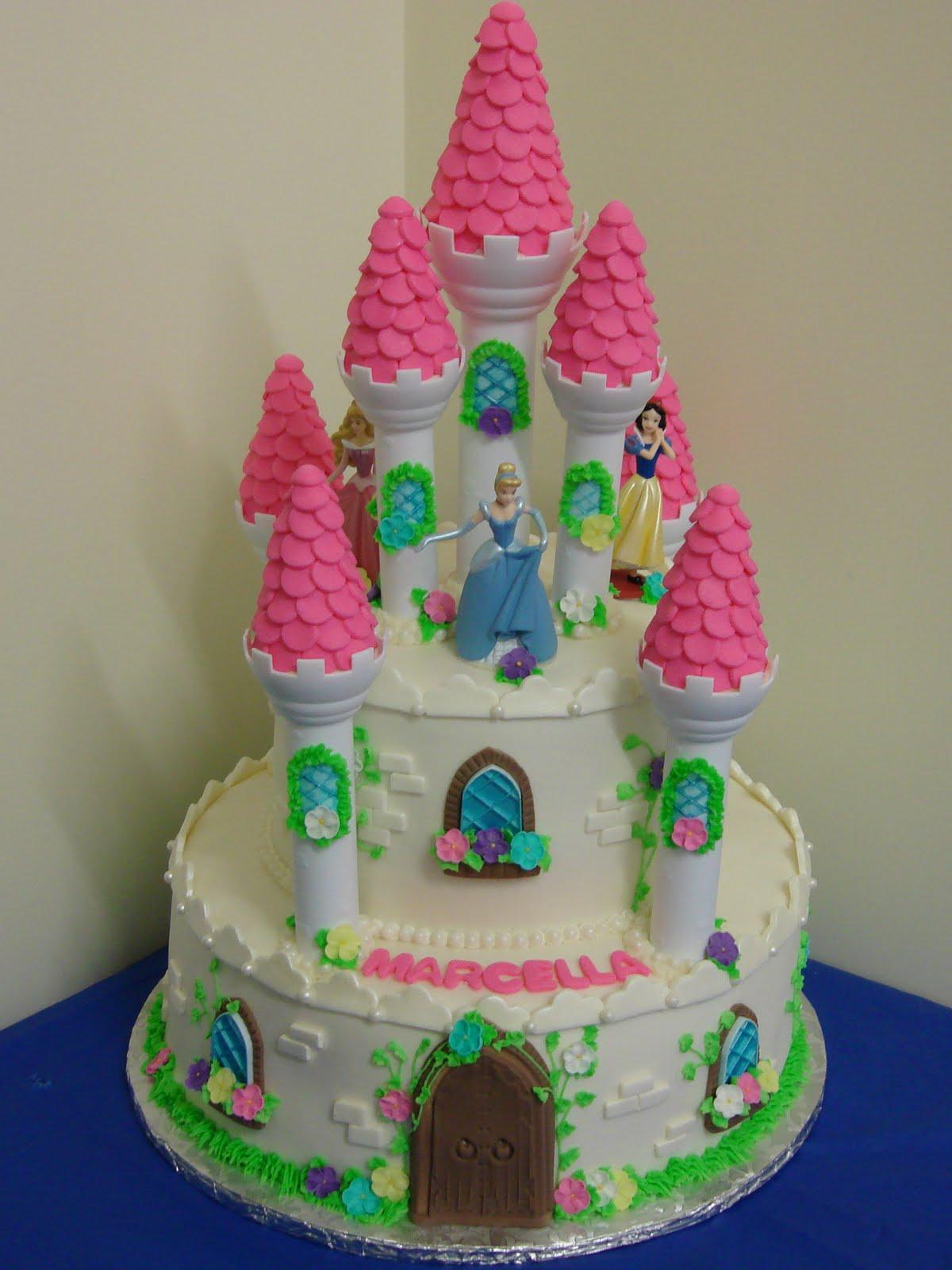 Debby S Cakes Disney Princess Castle