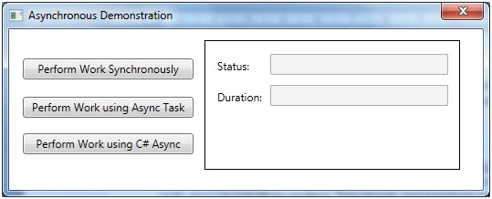 Content Master Technology Blog: The Async Modifier and the Await