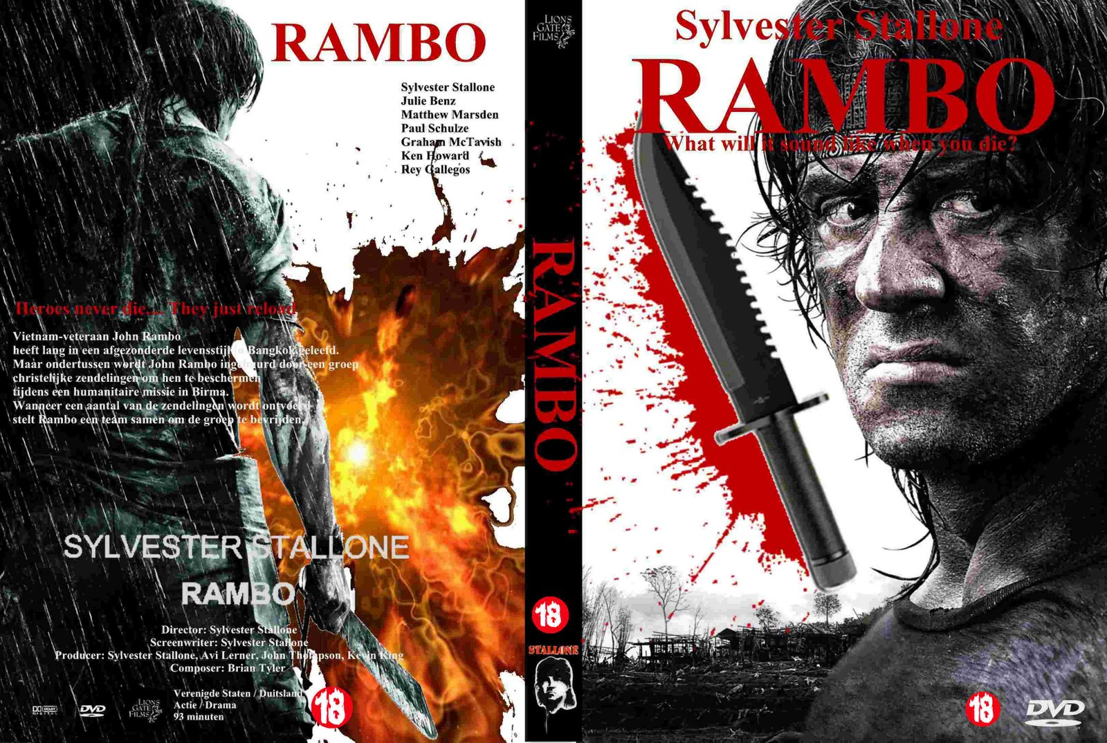 Rambo 5 dvd / Imdb party down south