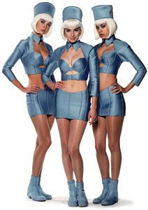 Air hostesses from Fifth Element