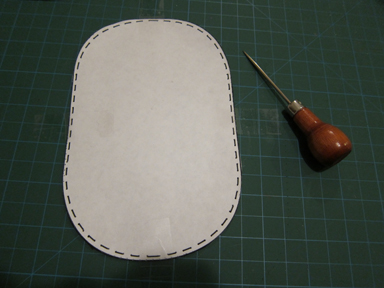 elbow patch template - leather elbow patch for sweaters and jackets fashion design