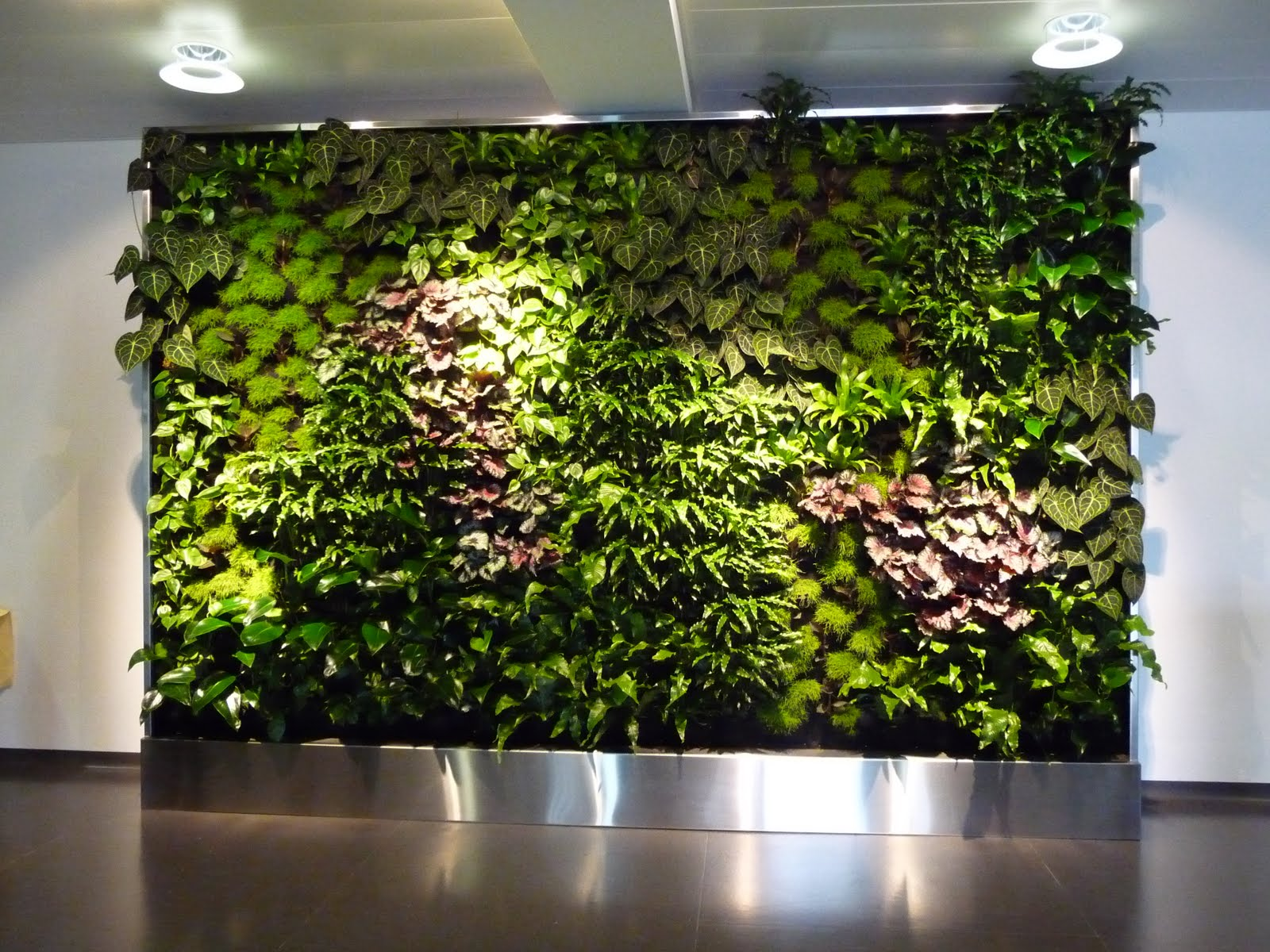 Business & Feng Shui by apprico Die Vertikale Wand ...