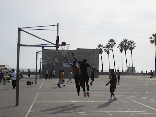 Basketball at Venice Beach