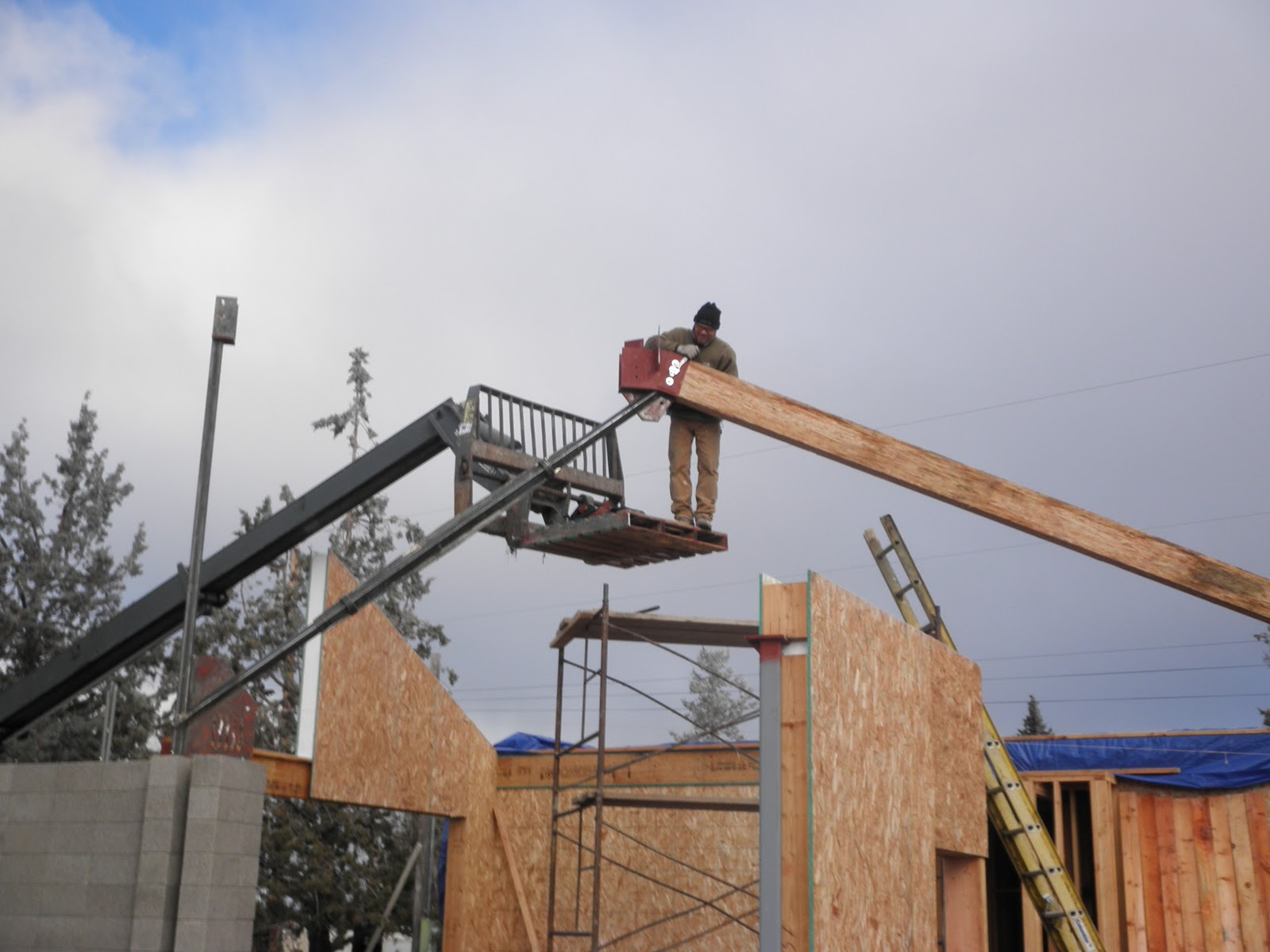 Roundup Ranch Dec 17 Continued Cable Truss Assembly