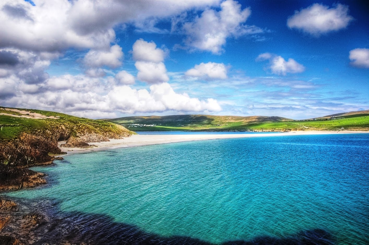 Shetland Islands Swimming Beach