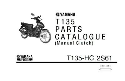 Yamaha Crypton R Parts Catalogue