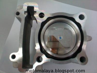 MotoMalaya: Yamaha LC135/Jupiter MX/Sniper Racing Block 60mm