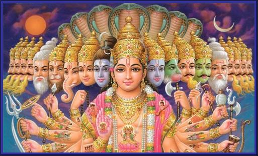 Panteon de los Dioses hindues