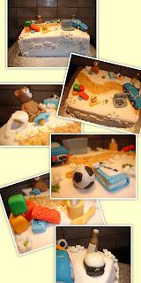 dekoration tårta ica