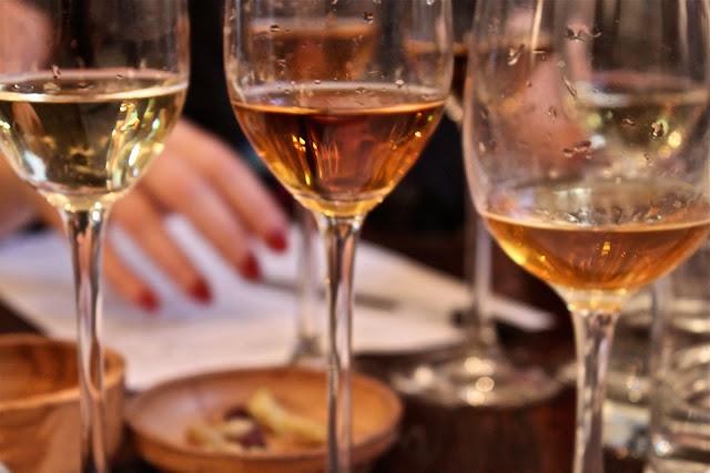 sherry tasting at Brindisa