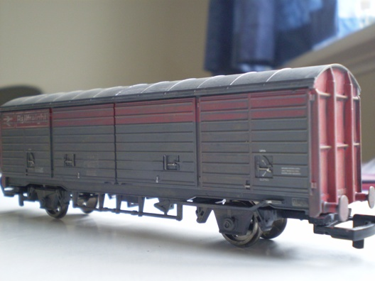 Weathered Hornby VGA for Rhiw
