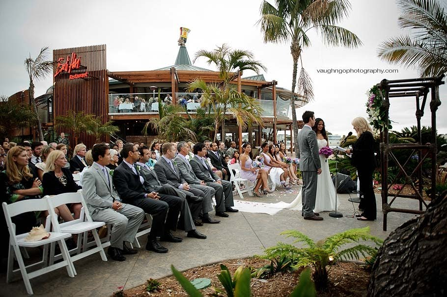 Frances And Josh S Wedding Was At The Newly Remodeled Bali Hai In Late June