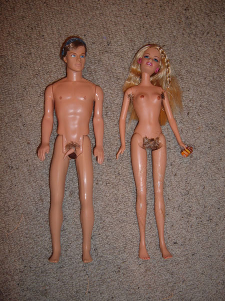 Naked Barbie 39