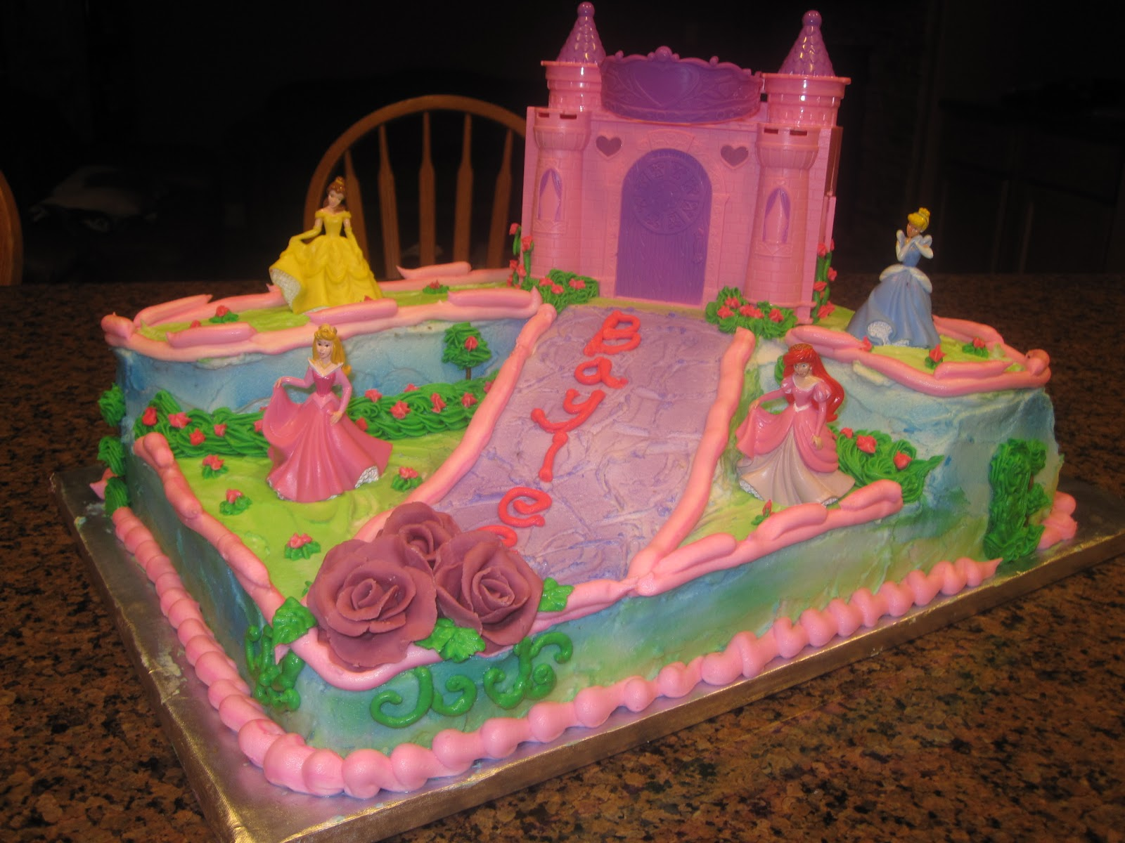 Cakes By Dora Princess Castle Cake