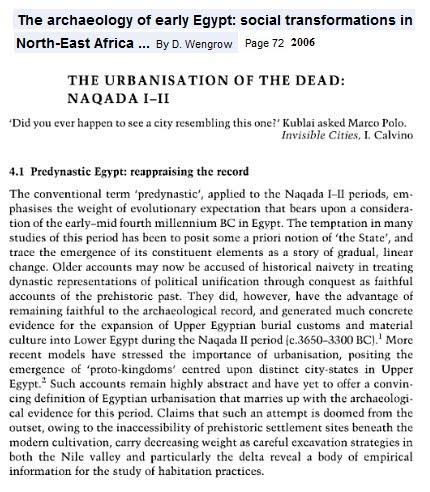 EgyptSearch Forums: Thesis: Neolithic Southern Badari