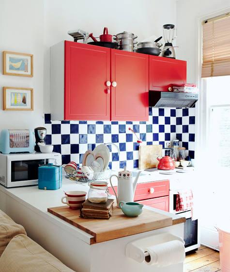 Cute Kitchen Themes: Open Kitchen Concept: A Cute Kitchen