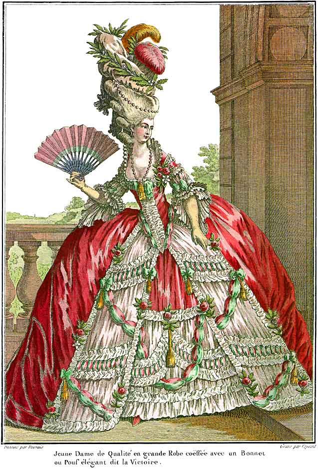 Alhafilo 1700s French Fashion