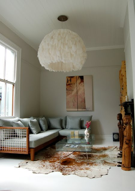 How to Make a Feather Light Fixture