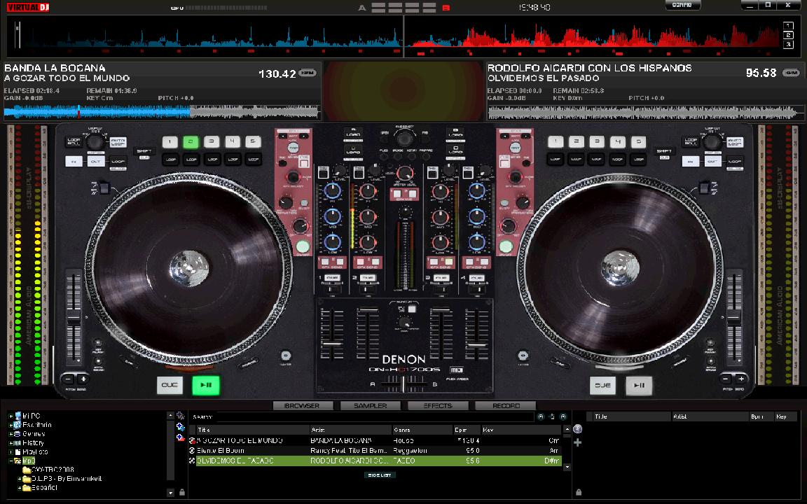 Aventuras y Opiniones de un DJ Ecuatoriano: Dos nuevos ... Virtual Dj Skins Denon
