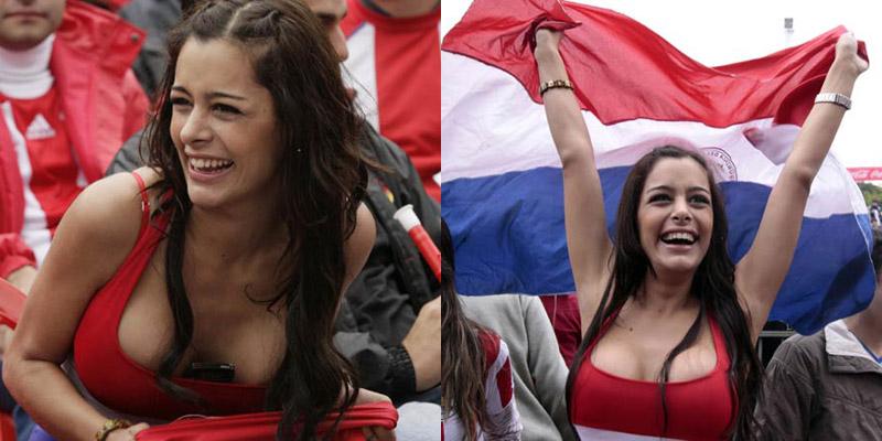 Modelo paraguaya Larissa Riquelme - fans y fanáticas del