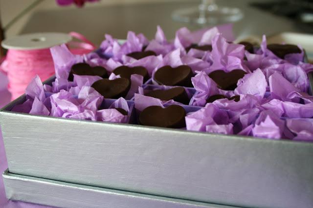 cioccolatini, fondente, scatola