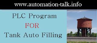 PLC Logic Auto-Filling Tank - Free PLC Programming