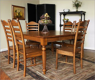 decor for world: French Country / Provincial Dining Sets - Cottage Dining Room Tables For Your Homes