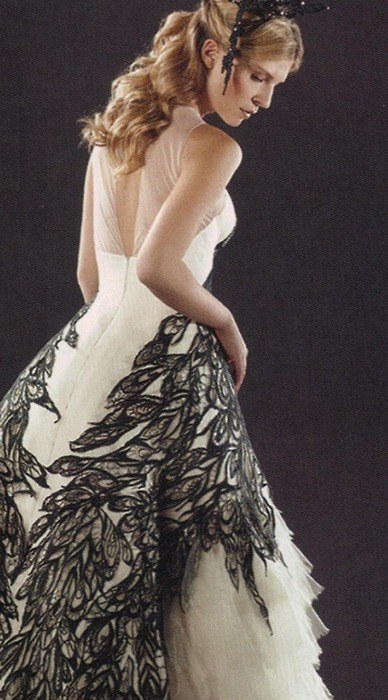 mariages r tro robe de mari e fleur delacour harry