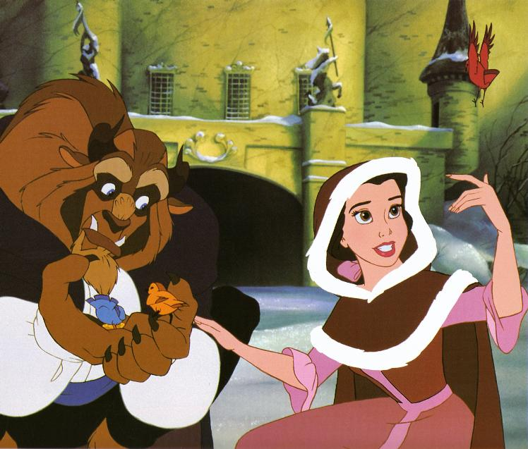 Princess Belle And Prince Adam Beauty And The Beast Gohana: Greatest Movie Themes: SOMETHING THERE (BEAUTY AND THE