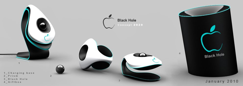 Concept phones: Apple Black Hole Concept, the iPhone of 2020?