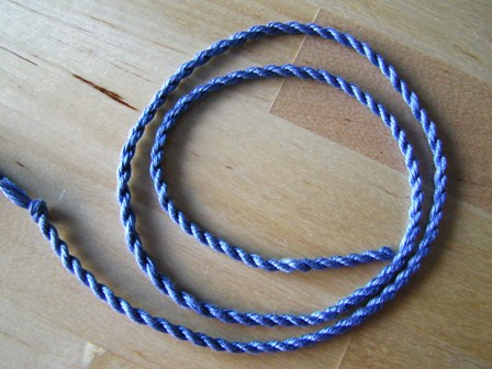 How to make twisted cord...