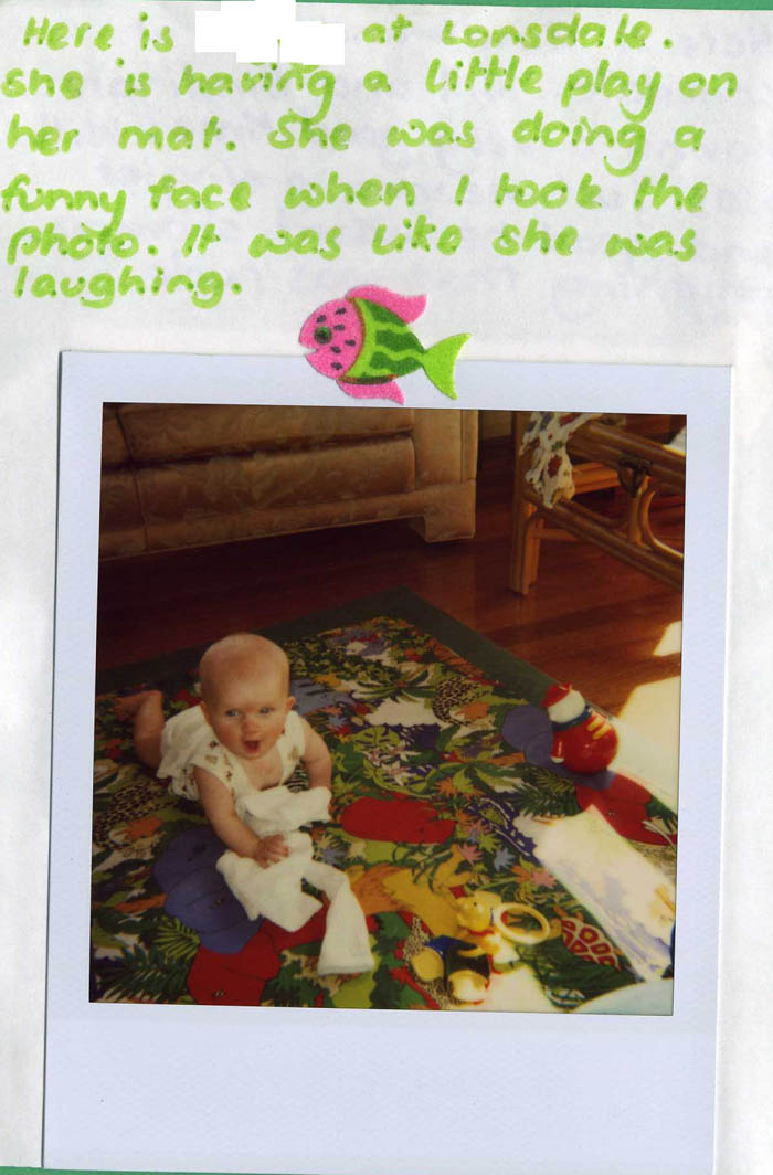 Polaroid Diary of a small child [img 07] ...