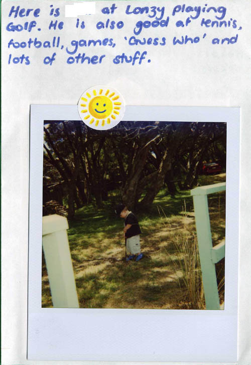 Polaroid Diary of a small child [img 12] ...
