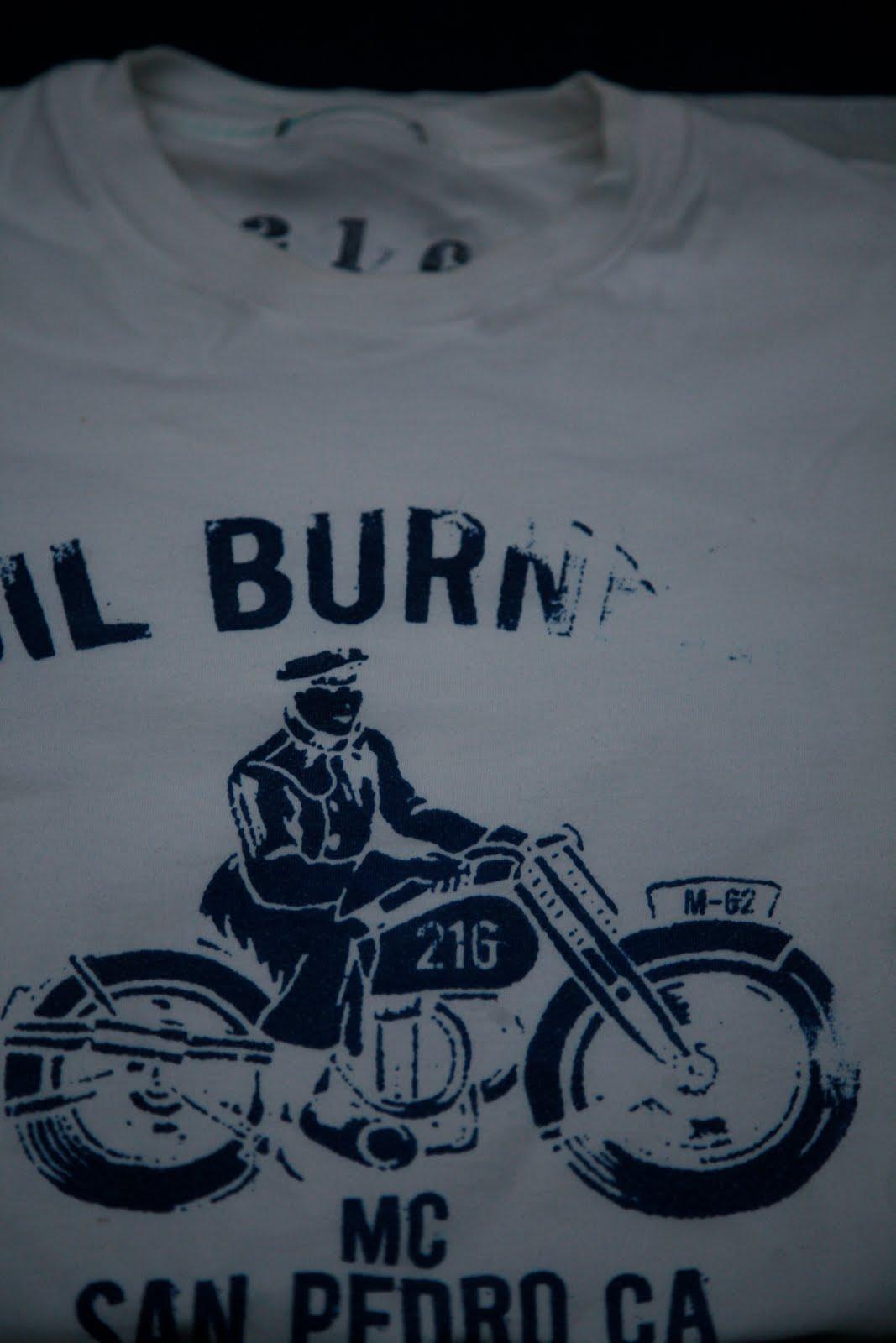 b36432b2873 216 union oil burners san pedro ca air rider t shirt