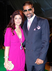 Twinkle Khanna With Akshay New