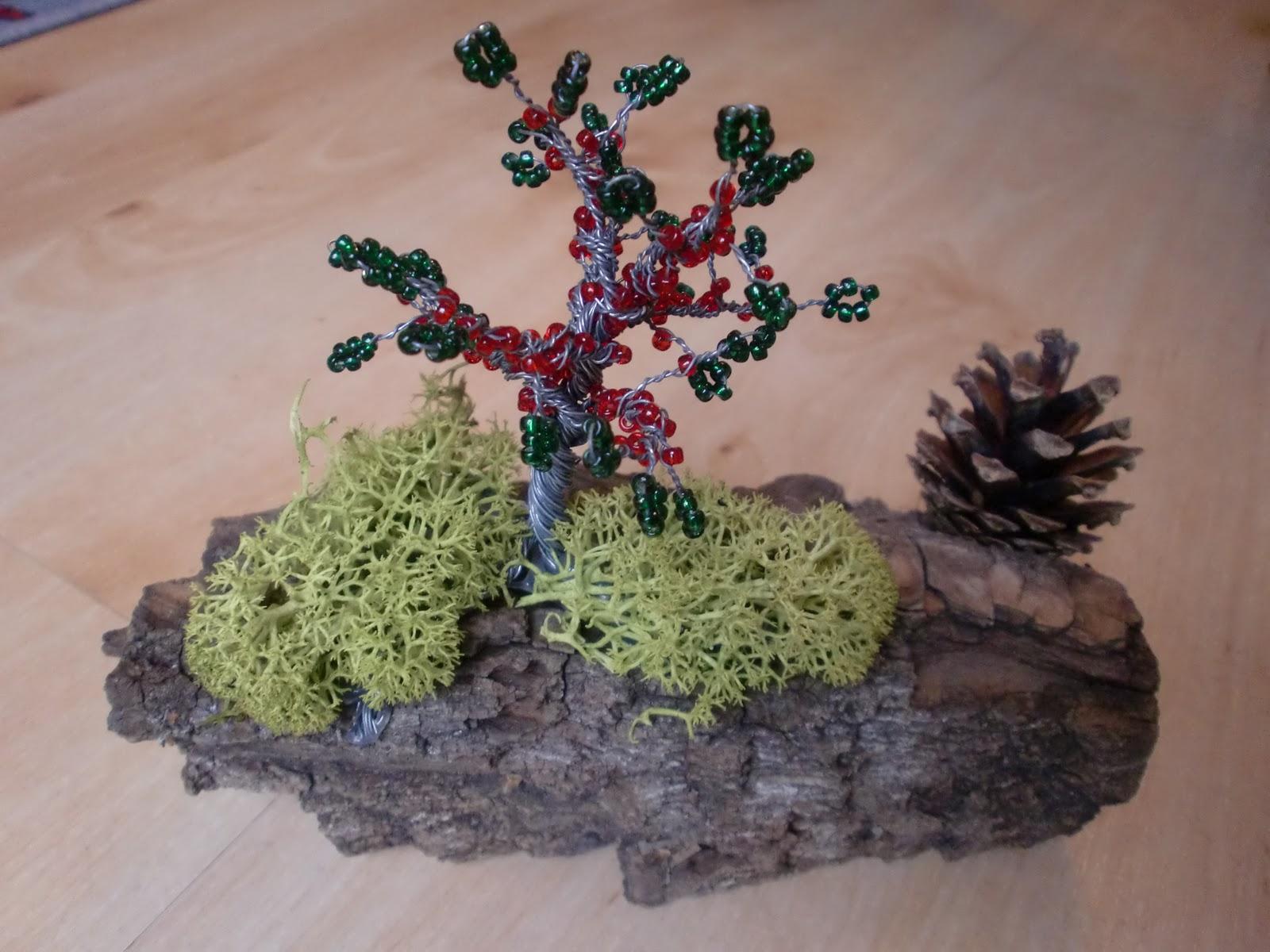 Eri's Kreativwerkstatt: Perlenbäume