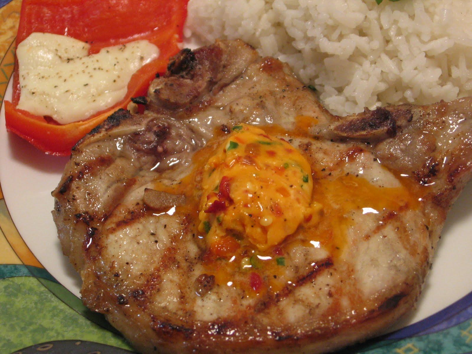 Jenn's Food Journey: Spicy Thai Pork Chops with Coconut Rice