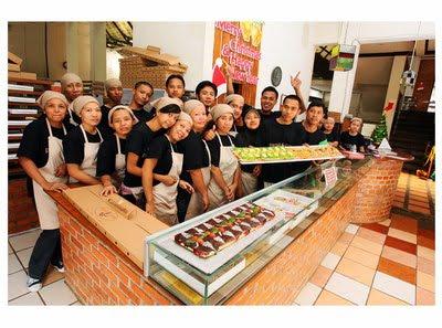 Pizza Meteran @ Bogor city