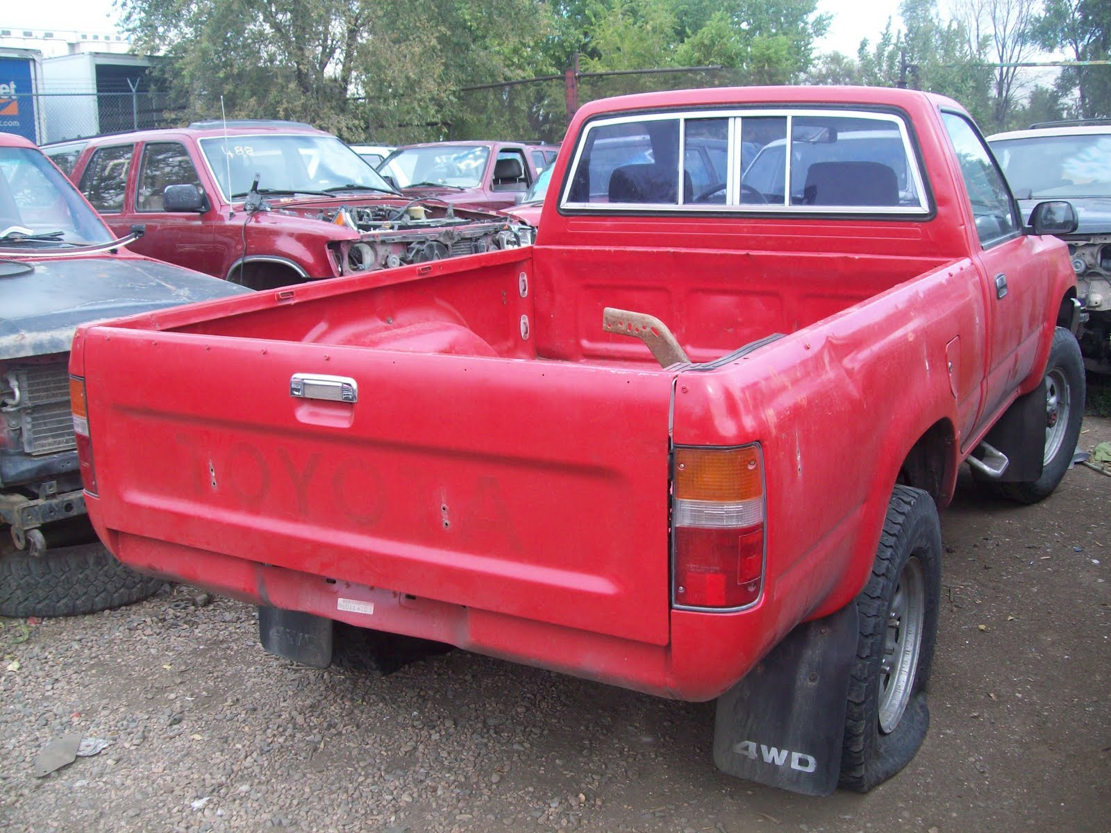 Toyota Pickup Parts >> New Arrivals At Jim S Used Toyota Truck Parts