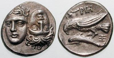 dracma de Istros