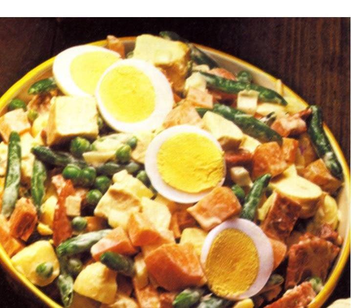 C mo preparar ensalada rusa for Cocinar ensaladilla rusa