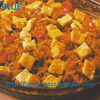 como preparar arroz estilo oriental