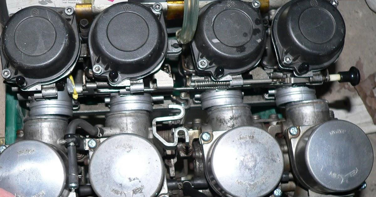 Old Car and Bike rambling: GSX-R750 Caruretor swap for the