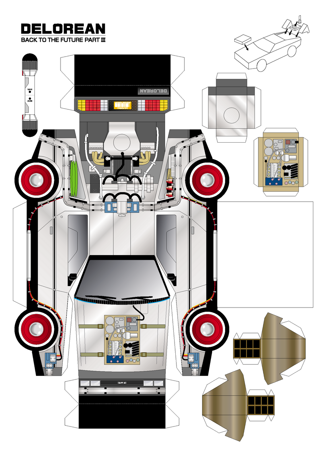 Endor Toys Los 1 18 De Volver Al Futuro