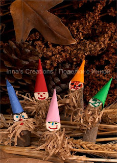 Gnomes out of sticks