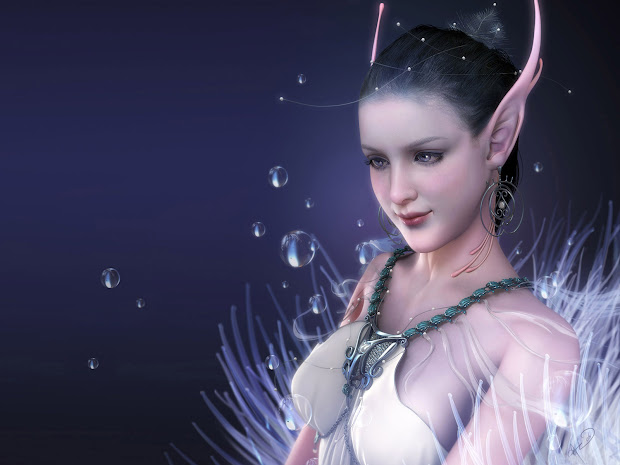 Fantasy Fairy Woman Background Wallpapers