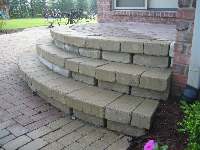 Brick Doctor Bill Major Brick Paver Step Repair For Paver Patio | Paver Patio Steps Designs | Retaining Wall Pergola | Landscaping | Building | Easy Diy | Stair